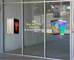 Cell Phone Business Storefront Advertising Graphics Sticker Window Lettering Ebay