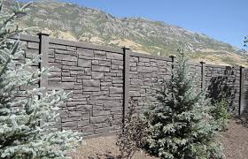Faux Stone Fencing The Perfect Solution For Your Backyard Oasis Pine River Group