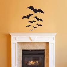 Bats Wall Decal Halloween Decor Bat Stickers Stephen Edward Graphics