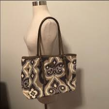 spartina 449 bags linen leather bag