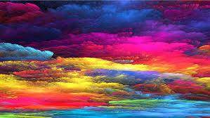 hd wallpaper rainbow art colorful