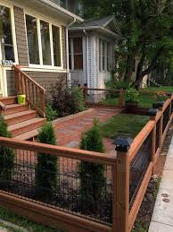 Suitable Low Front Garden Fence Ideas Only On This Page Patio Fence Small Front Yard Landscaping Backyard Fences