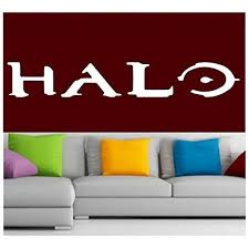 Halo Logo Decal Sticker Vinyl For Window Wall Video Game Laptop Consol Mymonkeysticker Com