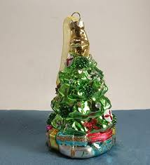 tree ornament mercury glass