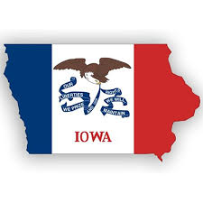 Amazon Com American Vinyl Iowa Shaped Iowa Flag Sticker State Decal Automotive