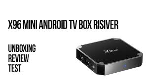 X96 Mini Android TV Box risiver - unboxing, review i test - YouTube