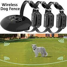 2016 Electric Dog Fence 2 Wireless Shock Collar Waterproof Hidden System For Sale Online Ebay