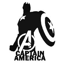 Avengers Captain America Decal Sticker