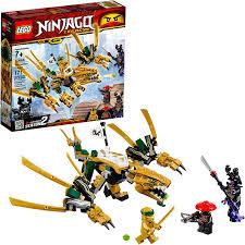 Amazon.com: LEGO NINJAGO Legacy Golden Dragon 70666 Building Kit (171  Pieces): Toys & Games