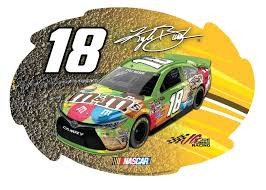 Buy Kyle Busch 18 Nascar Perforated Decal Auto Window Film Glass Logo Racing Sticker In Cheap Price On Alibaba Com