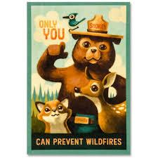 Smokey Bear Decal - Shop Americas National Parks