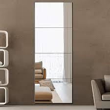 full length mirror frameless mirror