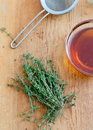 honey thyme homemade cough syrup cafe