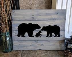 Black Bear Decal Etsy