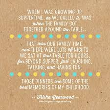 quotes about family eating together quotesgram