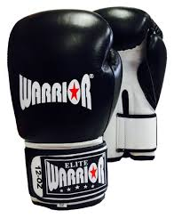 warrior leather elite boxing glove