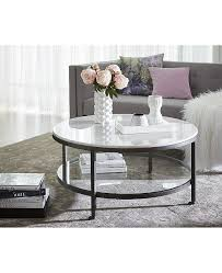 stratus round coffee table created for
