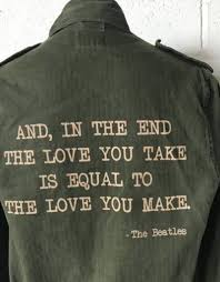 beatles military jacket s m