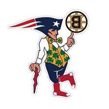 Boston Fan Sport Flag Logo Creativestickers0121 Set Of