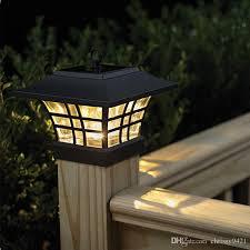 2020 4x4 Garden Solar Fence Post Cap Lights Solar Lantern Light Led Solar Wooden Fence Gate Pillar Lamp Outdoor Household From Chrissy9421 38 15 Dhgate Com