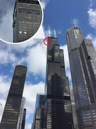 glass floored ledge on 103rd floor of