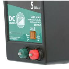 Zareba Electric Fence Charger Dc Battery Operated Fences Energizer Solid State 5 Miles