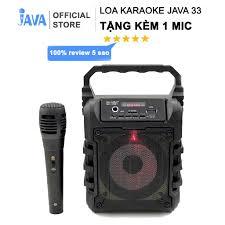 TẶNG 1 HOẶC 2 MIC KARAOKE CÓ VANG 100K] Loa Kẹo Kéo Karaoke Bluetooth Mini  - vi tính