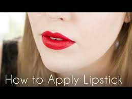 lipstick tutorial to get perfect lips
