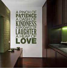 A Pinch Of Patience Wall Sticker