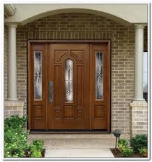 side panels double front doors with