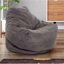 Bean Bag Comfy Chair Dorm Teen Kids Room Lounger Large Big Foam Microfiber Mocha For Sale Online