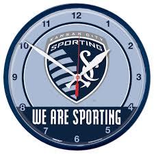 Wincraft Sporting Kansas City 1275 Round Wall Clock