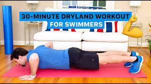 total body dryland workout for swimmers