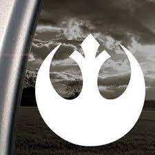 Rebel Alliance Star Wars Window Decal Sticker Custom Sticker Shop