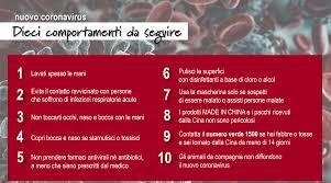 Coronavirus, le dieci regole del ministero della Salute per ...