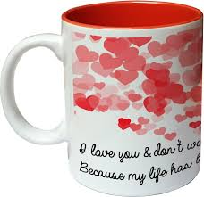 home garden coffee mugs to my husband love you even more