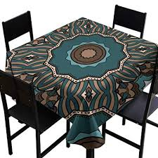 square table cover seamless art deco
