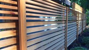 Portland S Horizontal Fence Screen Experts