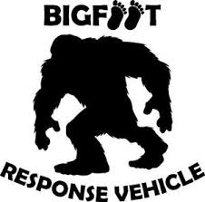 Bigfoot Response Vehicle Yeti Sasquatch Vinyl Decal Sticker Ebay