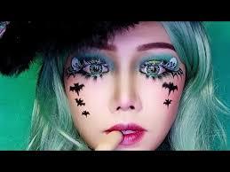 makeup ideas skull bat face