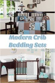 modern crib bedding sets for boys