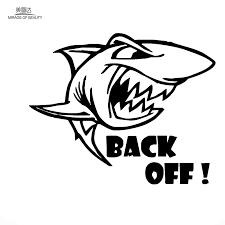 14 4cm 17 8cmlarge Ferocious Marine Animals Shark Car Stiker For Motorhome Wall Rv Minicab Motorcycles Laptop Car Decor Vinyl De Wall Stickers Aliexpress