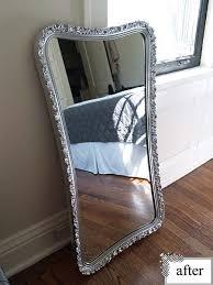 spray paint mirror mirror painting