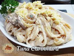 tuna carbonara recipe panlasang pinoy