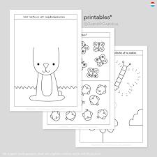 Lente Printable Doeboek