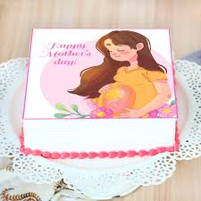 Order New Mommy Mothers Day Cake Online, Price Rs.999 | FlowerAura
