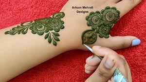 mehndi design photos simple