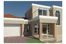3 bedroom house plan with garages