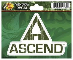 Ascend Die Cut Vinyl Window Decal Bass Pro Shops