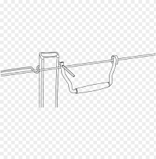 Hook Qt On Fencing Wire Line Art Png Image With Transparent Background Toppng